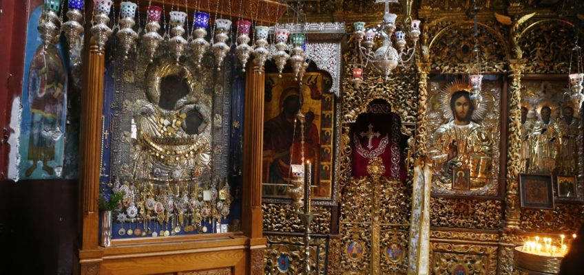 История Иверской иконы Божией Матери
