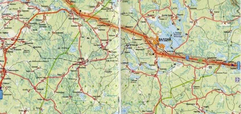 Карта, схема