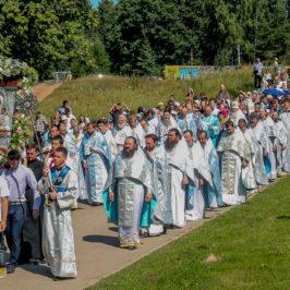 крестный ход, 10 августа