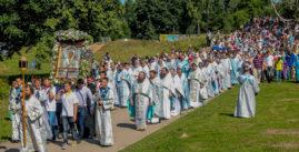 10 августа  валдайский иверский монастырь крестный ход