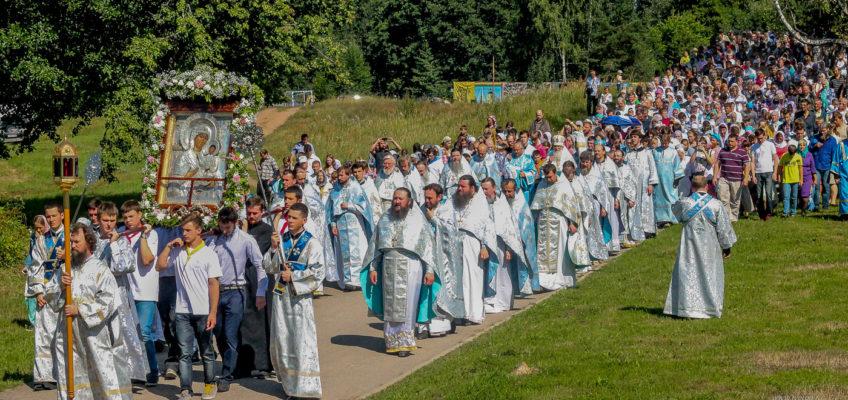 Престольные праздники в Валдайском Иверском монастыре