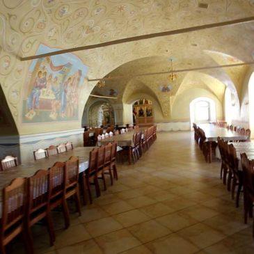 трапезная иверского монастыря