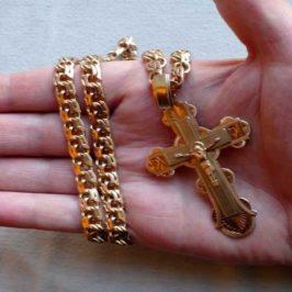 Нужно ли освящать кольца и цепочки?