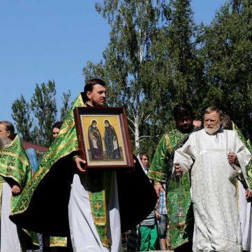 В день памяти прпп. Константина и Космы Косинских Митрополит Лев совершил Литургию в Косинском монастыре