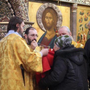 В 25-ю неделю по Пятидесятнице, иеромонах Антоний совершил Божественную Литургию