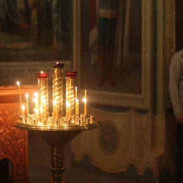 В 29-ю неделю по Пятидесятнице, иеромонах Антоний совершил Божественную Литургию