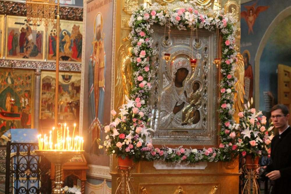 Валдайская Иверская икона