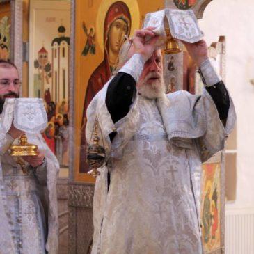 Престольный праздник в храме Архистратига Михаила