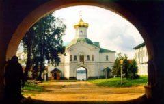 Церковь митр. Филиппа. Фото 1993 год