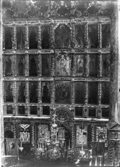 Иконостас собора. Фото до 1917 г.