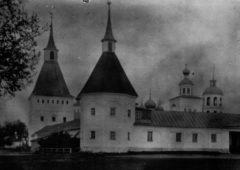Конная башня. Фото до 1917 г.