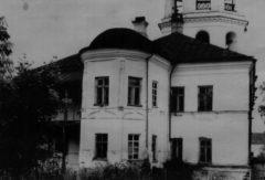 Апсида домового храма Настоятельского корпуса. Фото 1948 г.