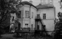 Апсида домового храма Настоятельского корпуса. Фото 1970 г.