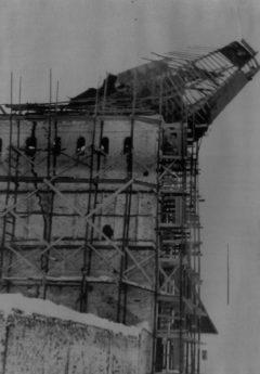 Михайловская башня. Вид с юго-запада. Фото 1960 года