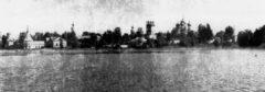 Вид с озера. Фото 1969 г.