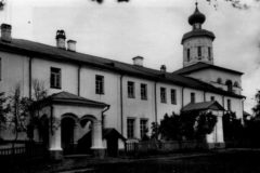 Трапезная  ц. Богоявления. Фото до 1917 г.