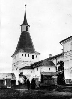 Михайловская башня. Вид с юго-запада. Фото 1917 года