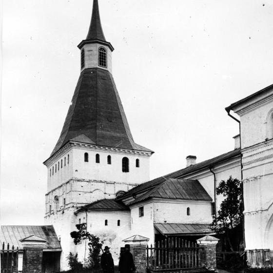Михайловская (Патриаршая-Никоновская) башня. Вид с юго-запада. Фото до 1917 года