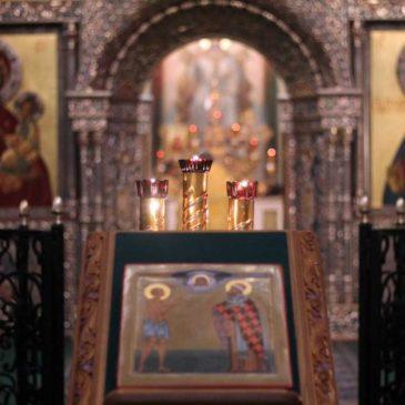 Престольный праздник святителя Филиппа, митрополита Московского