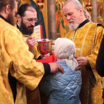 Собор новомучеников и исповедников Российских, иеромонах Антоний совершил Божественную Литургию