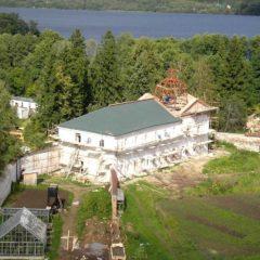 Реставрация монастыря