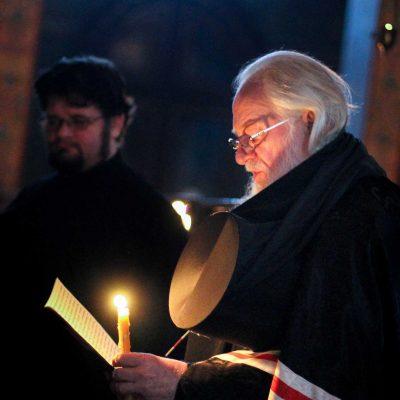 Митрополит Лев совершил чин прощения в Софийском соборе