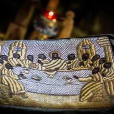В среду второй седмицы Великого поста митрополит Лев совершил Литургию Преждеосвященных Даров в Иверском монастыре