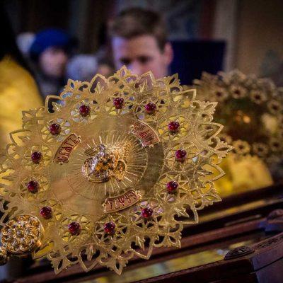 В праздник Торжества Православия митрополит Лев совершил Божественную литургию в Софийском соборе