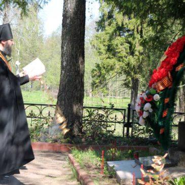 Церковь совершила молитву о воинах, погибших в годы Великой Отечественной войны