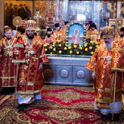 В Великом Новгороде почтили память святителя Никиты Новгородского