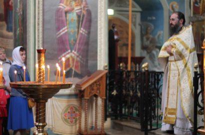 В праздник Вознесения иеромонах Антоний совершил Божественную литургию