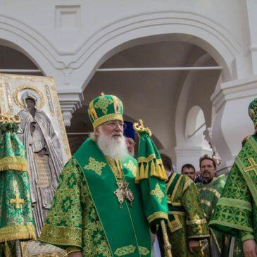 В Варлаамо-Хутынском монастыре отметили престольный праздник
