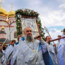 Престольный праздник в Иверском монастыре