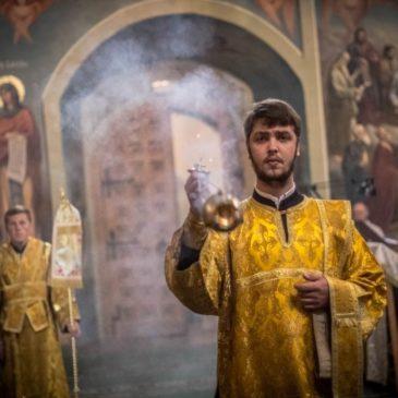 Память отцов шести Вселенских Соборов. Митрополит Лев совершил Божественную литургию в Иверском монастыре