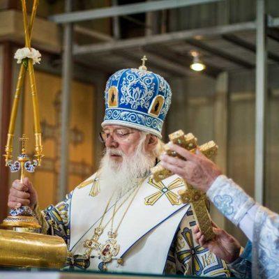 Праздник Успения Божией Матери. Митрополит Лев совершил Божественную литургию в Софийском соборе