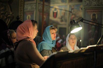 В день памяти Усекновения главы Иоанна Предтечи Митрополит Лев совершил Литургию в Иверском монастыре