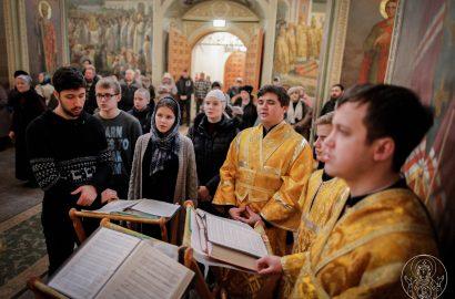 Митрополит Лев совершил Божественную литургию в Иверском монастыре