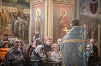 Праздник входа во храм Пречистыя Девы Марии