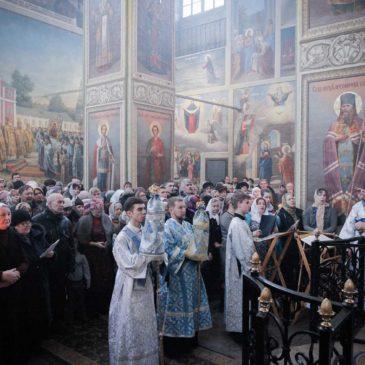 Престольный праздник нашей обители в честь перенесения списка чудотворной Иверской иконы Божьей Матери