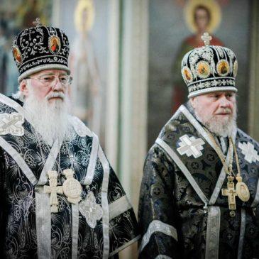 Митрополит Лев совершил Литургию Преждеосвященных Даров в Иверском монастыре