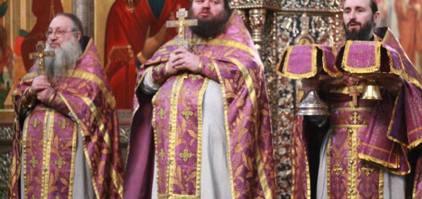 Неделя 5-я Великого поста, память преп. Марии Египетской