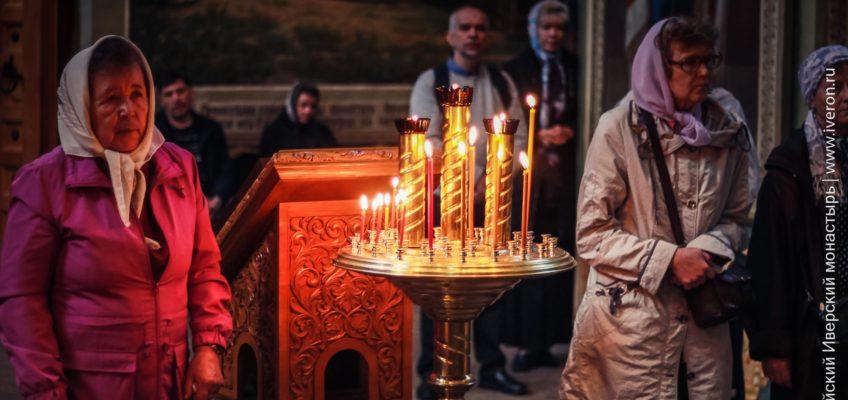 Богослужение на праздник Вознесения Господне