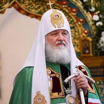 Патриарх Московский и всея Руси Кирилл посетит Великий Новгород