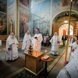 В Иверском монастыре митрополит Лев и духовенство епархии почтили память Иосифа, епископа Валдайского