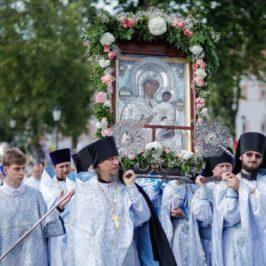 В Иверском монастыре престольный праздник Иверской иконы Божией Матери
