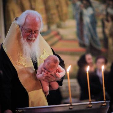 Митрополит Лев совершил Таинство Крещения и Божественную литургию в Иверском монастыре