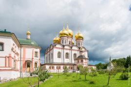 The Valdai Iversky Svyatoozersky Bogoroditsky Monastery. Iberian cathedral