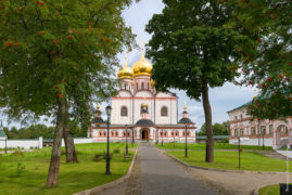 The Valdai Iver Svyatoozersky Virgin Monastery. Iversky Cathedral 1655-56