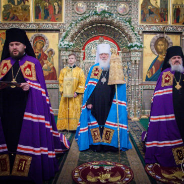 Рождественское послание  митрополита Льва