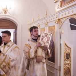 Митрополит Лев совершил Литургию в храме свт. Филиппа